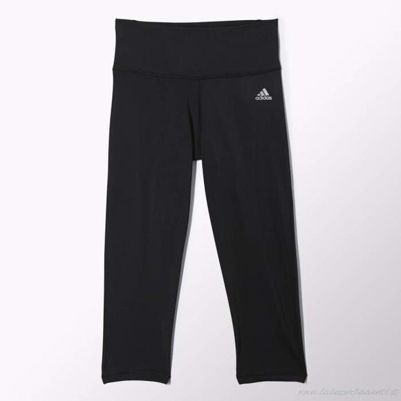 db5d4c60ee57e adidas Pants | Performer High Rise Three Quarter Tights | Poshmark